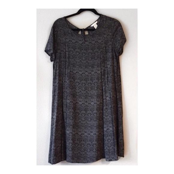 H&M Dresses & Skirts - LIKE NEW | H&M Black and White A-Line Dress